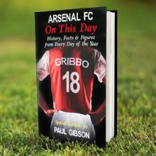 Personalised Arsenal On This Day Book P0512M90